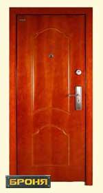 стальная дверь броня: модель-Прима