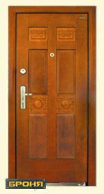 стальная дверь броня: модель-Дуэт