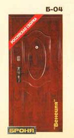 стальная дверь броня: модель-Венеция