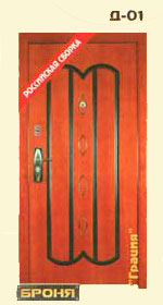 стальная дверь броня: модель-Грация