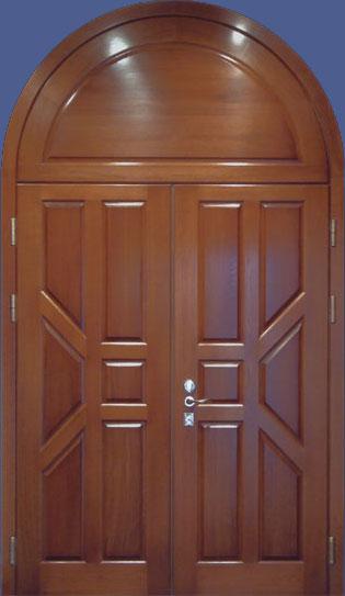 Арочные двери или металлические двери арочной формы