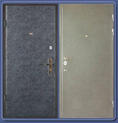 металлические двери 2000
