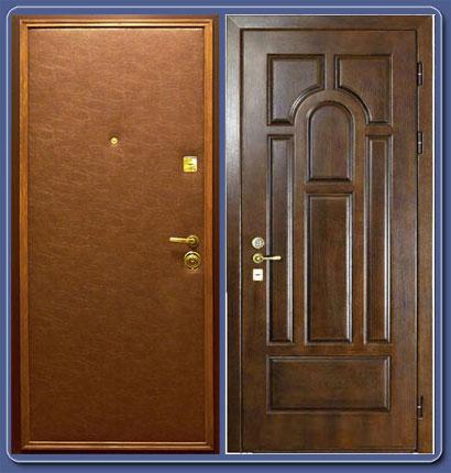 установка железной двери щербинка