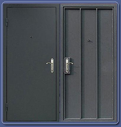 металлические технические двери производство
