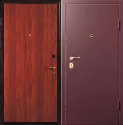 купить металлическую дверь в москве с напылением цветам венге
